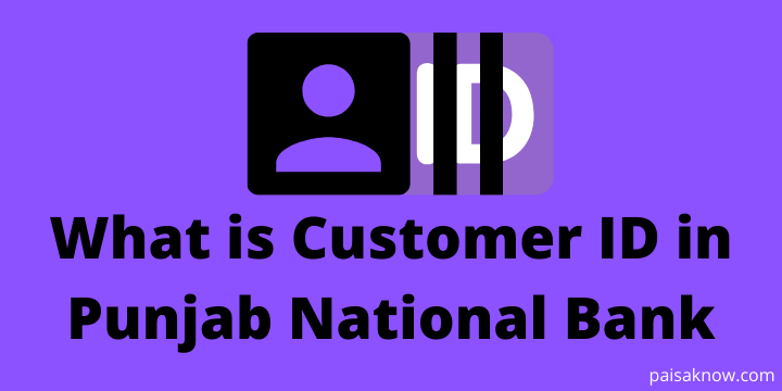 What is Customer ID in Punjab National Bank