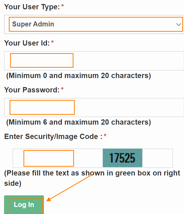 How to Login to HRMS Haryana Super Admin Portal?